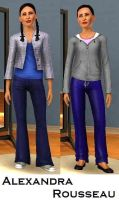Alex Rousseau- Sims 3 by pudn