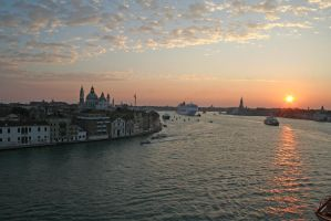 Venice at sunrise by Singingnaturist