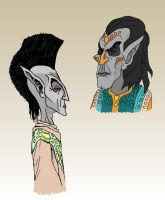 Dunmer sketches by KaissE