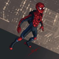 Spider-Man Reboot Costume by DanielHeard