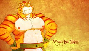 A Warrior Tiger Wallpaper by Skuma23