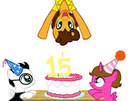 2 birthday's by burntuakrisp
