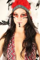 Aztec War Paint III by amayamua