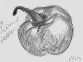 Still Life Pepper by cillanoodle