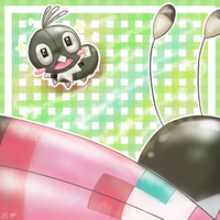 Scatterbug wants to be a Vivillon by sekihiro