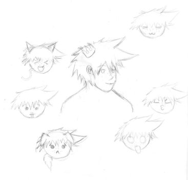 Sora Doodles by wallawallabingbong