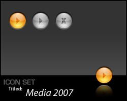 IconSet: Media 2007 by Scoville-Cased