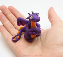 Phineas, the Grumpy Little Dragon by LitefootsLilBestiary