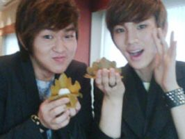 Onew and Key 28 Apr 2010 by Nuna-Haebaragi