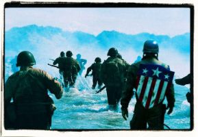 Captain America D Day by jibp7177