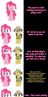 Pinkie Pie and Daring Do say Goodnight! by Undead-Niklos