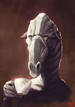 Cup of tea by FJFT-Art