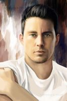 Channing Tatum digitaldrawing by TomsGG