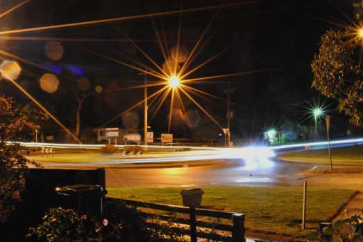 light trails by josiahh3rm4