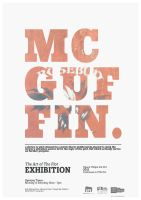 Mcguffin Art Exhibition Poster by jamdarcy