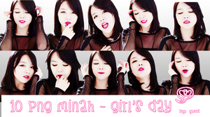 1O PNG MINAH - GIRL'S DAY by YoungYumi01