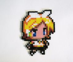Rin- Vocaloid Perler by Melon-love