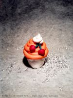 Fimo Cupcake by magur