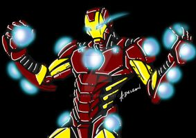 Iron Man by ADL-art