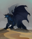Blue Dragon by rzanchetin