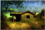 The hut in the valley by ShlomitMessica