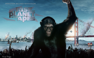 Rise of the Planet of the Apes by Denis-Design