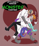 Monsters Together by Homosorcerer