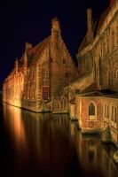 Brugge at night.... by avdstelt