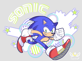 Sonic Splash by KonKonna
