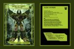 Rainmaker Acid Storm collector card front and back by BDixonarts