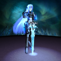 3D KOS-MOS: Frostmourne by Primantis