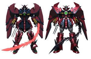 Epyon old and new by ssejllenrad2