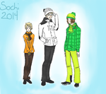 Hetalia Olympics 2014: Baltics by bookworm555
