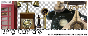 Old Phone Png - Set17 by pinkshadoww