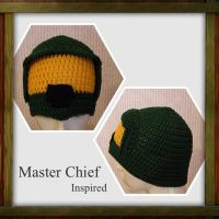 Master Chief-inspired Hat by Amaze-ingHats