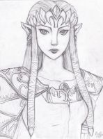 Zelda Portrait by ibella777