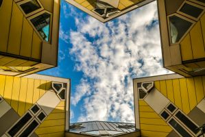 cube house in Rotterdam by Ainanas