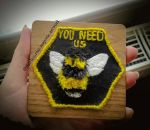 Bumble Bee Patch  by FlawlessRose