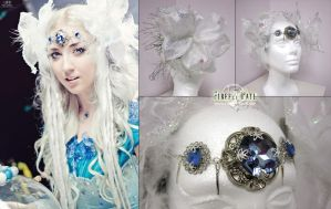 Ice Goddess Hair Accessories by Lillyxandra