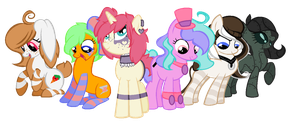 My Mane Six by IIbukiMioda