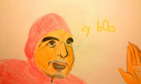 Pink Guy by Frying-Pan-Warrior