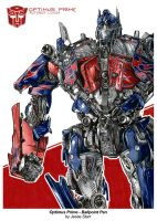 Optimus Prime Ballpoint HQ by starr2099
