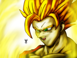 Super Saiyan Goku by Arenthor