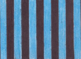 Blue and Black Striped Texture by emothic-stock