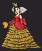 Queen of Hearts - Villains Designer Collection by Katifisen