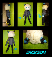 Jackson Plushie by Mouseleaf