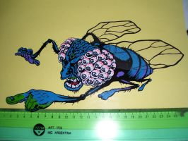 mosca_sticker by cucusita