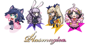 Plasmagica Chibis by TentacleF00