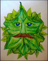 The Green Man by VaughanFawn