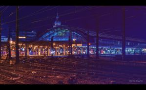 Cologne train station by pixelimage